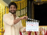 Allu Arjun And Trivikram S New Film Stars With Poojaceremony