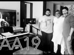 Music Sittings Starts For Allu Arjun And Trivikram Movie
