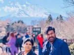 Small Break From Sye Raa Chiranjeevi In Japan With His Family