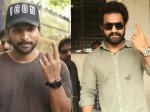 Telugu Actors Allu Arjun Jr Ntr Casting His Vote In Hyderabad