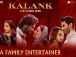 Kalank Movie 4 Days Boxoffice Report