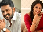 Jyothika And Karthi Are Acting In A Thriller