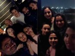 Mahesh Babu Ntr At Director Vamshi Paidipally S Wife Birthday Party