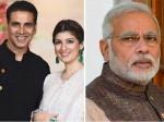 Pm Narendra Modi About Akshay Kumar Wife Twinkle Khanna Anger