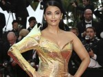 Cannes 2019 Aishwarya Rai Shines In A Gold Metallic Gown On The Red Carpet