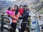Allu Arjun And Family Holidaying In Switzerland