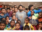 Sai Dharam Tej Arranged Special Show Of Avengers For Orphan Children