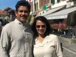 Akkineni Nagarjuna Enjoyed With His Wife In Switzerland