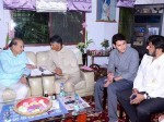 Chandrababu And Balakrishna Met Superstar Krishna