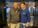 Huge Fanboy Moment Mahesh Babu With Cricket Legend Andy Roberts