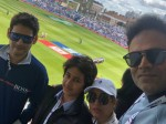 Mahesh Babu Selfie With Son At India Vs Australia World Cup