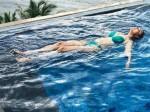 Nisha Agarwal Gets Into The Pool In A Bikini Look