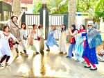 Japanese Fans Hulchal At Prabhas Residence