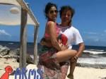 Shriya Saran Chills With Husband Andrei Koscheev In Mexico