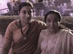 Modi 2 0 Swearing In Asha Bhosle Praises Smriti Irani