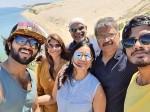 Vijay Deverakonda Enjoyed In South France With His Family