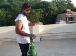 Rx 100 Fame Karthikeya Finishes Bottle Cap Challenge