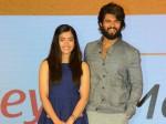 Rashmika Mandanna And Rakshit Shetty Break Up Questions At Dear Comrade Press Meet