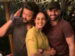 Ram Pothineni Attended In Genelia D Souza S Party