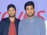 Hero Nitin Praises Sharwanand In Ranarangam Pre Release