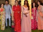 Pics Bollywood Stars At Ambani S Ganesh Chaturthi 2019 Celebrations
