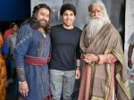 Allu Sirish With Chiranjeevi Amitabh Bachchan Pic Goes Viral