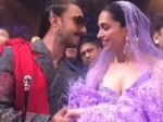 Ranveer Singh Kissed Deepika Padukone At Iifa Awards