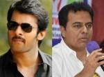 Telangana Minister Ktr Thanks To Actor Prabhas
