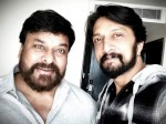 Kichcha Sudeep Learnt This One Thing From Megastar Chiranjeevi