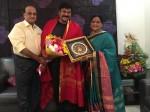 Roja Ramani Felicitated Chiranjeevi On Sye Raa Success