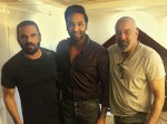 Sanjay Dutt Charming Entry To Meet Suniel Shetty And Vishnu Manchu