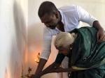వృద్ధురాలికి ఇల్లు కట్టించి మాట నిలబెట్టుకున్న రాఘవ లారెన్స్