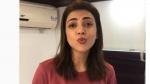 'భూమి'పై కాజల్ వీడియో.. జయం రవి కోసం స్పెషల్ పోస్ట్