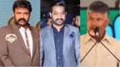 నందమూరి ఫ్యామిలీలో పండుగ: ఒకే వేదికపై బాలయ్య, ఎన్టీఆర్, చంద్రబాబు