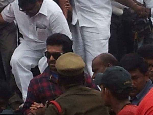 Ram Charan's presence caused stampede in Vizag