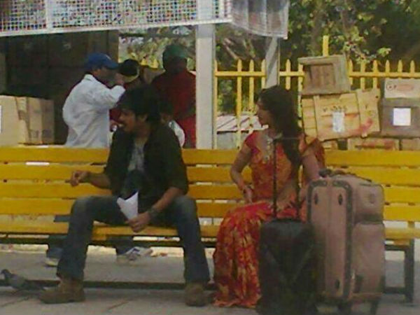 Attarintiki Daredi shooting at hyderabad
