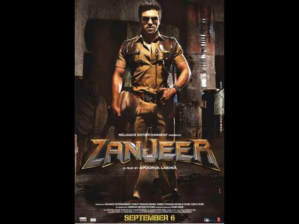 Ram Charan's Zanjeer Hindi trailer on July 5th