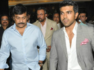 Chiranjeevi happy with his Son