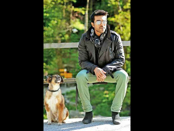 Ram Charan turns vegetarian for his dog, Brat
