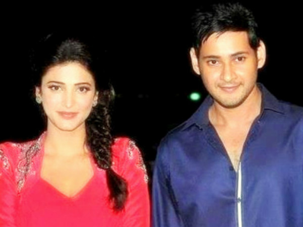 Shruti Hassan romance with Mahesh Babu?