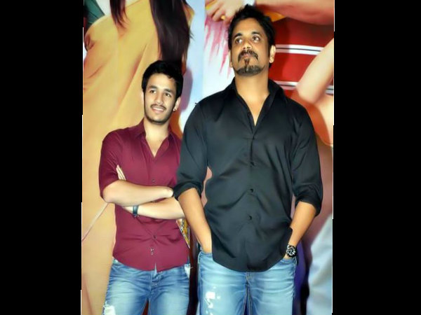 Nagarjuna about Akhil is not in Manam