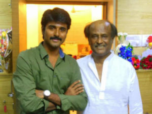 Sivakarthikeyan disturbed as buildup is given to him on standard with Rajini