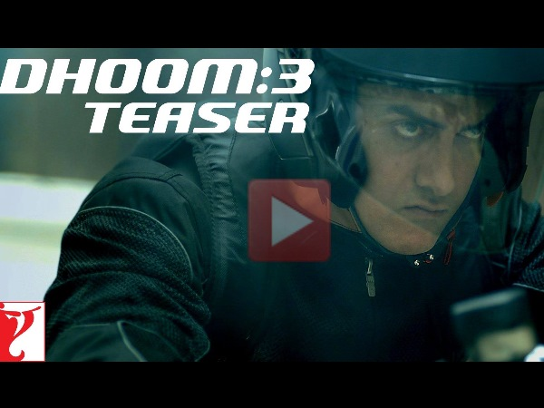 Dhoom 3 Teaser Promo Released