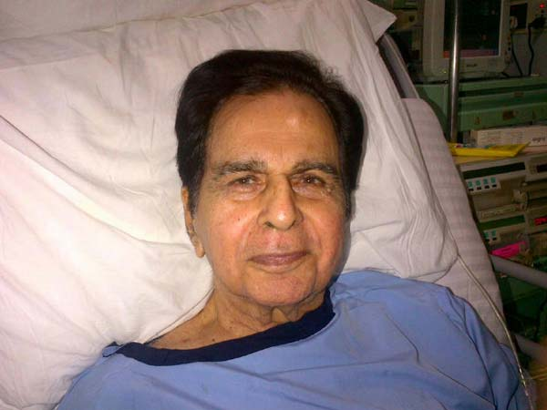 Ailing Dilip Kumar's Latest Picture From Hospital
