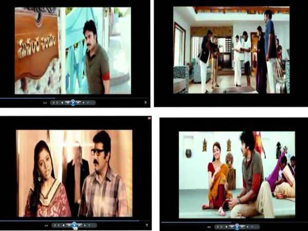 90 mins video of AttarintikiDaredi movie is leaked