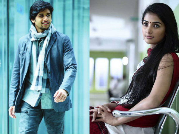Miss India with Naga Chaitanya