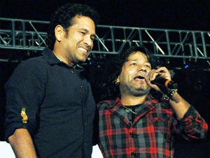 Kailash Kher creates special song on Sachin Tendulkar