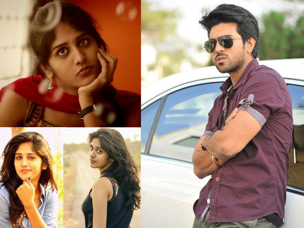 Chandini Chowdary to Act with Ram Charan