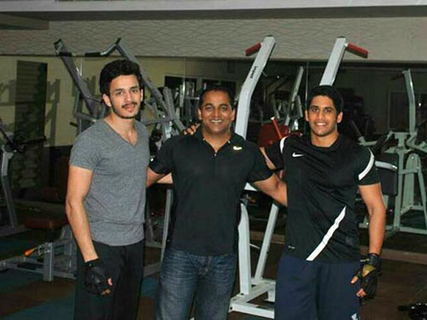 Akkineni brothers spotted together