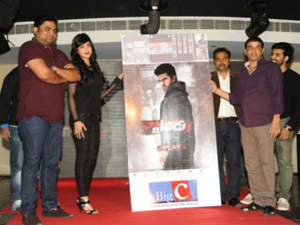 'Yevadu' available on moble phones